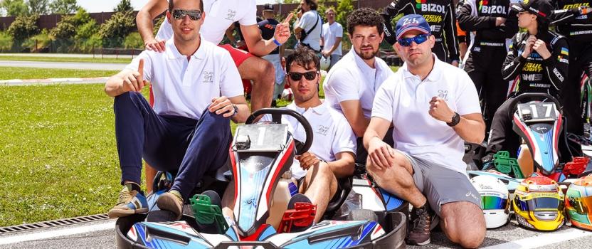 Club 91 Squadra Corse festeggia il secondo alla 24 ore International Cup
